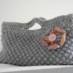 portföy çiçekli çanta örneği