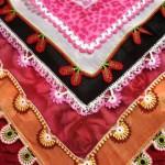 renkli yeni dantel motifli iğne oyası desenleri