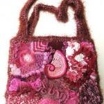 süslemeli çanta örneği